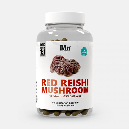 Red Reishi Mushroom Extract Capsules