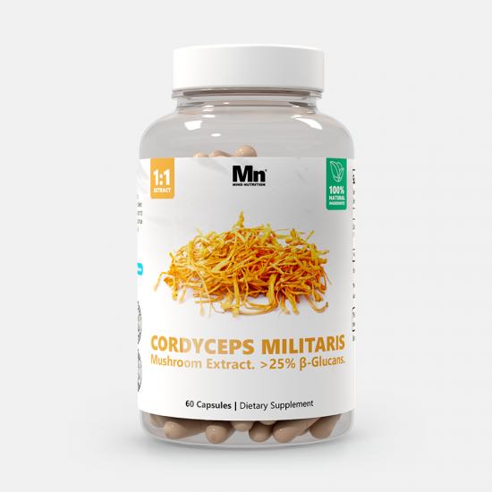 Cordyceps Mushroom Extract Capsules