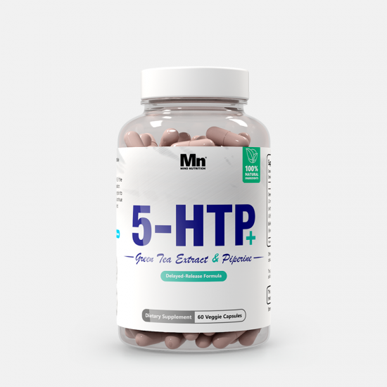5-HTP Capsules (100mg) | With EGCG + Piperine